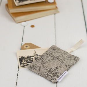 Paris Fabric Lavender Bag - home sale