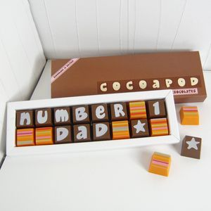 Personalised Chocolates In Small Box - party bag ideas