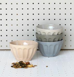 Ceramic Grey Bowl - dining room