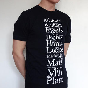 Political Philosophers T Shirt - Mens T-shirts & vests