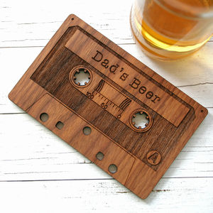 Personalised Cassette Coaster