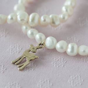 Bambi Pearl Bracelet - children's accessories
