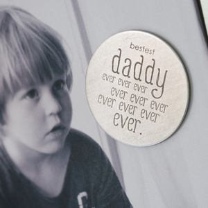 Bestest Daddy Ever Ever Magnet - storage & organising