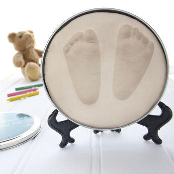 Baby Imprint Hand Print Or Footprint Casting Kit Tin