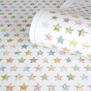 Map Stars Recycled Christmas Wrapping Paper
