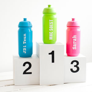 Personalised Sports Bottle - back to school essentials