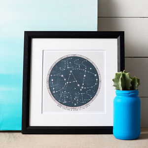 Our Universe Print - personalised