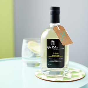 Lemon And Ginger Gin - christmas party food & drink