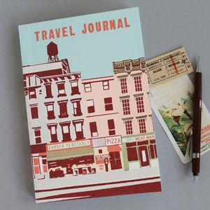 Travel Journal Downtown N.Y.C