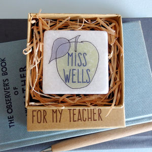 Personalised Teacher Magnet In Matchbox - kitchen
