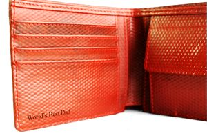 Reclaimed Fire Hose Billfold Wallet - mens