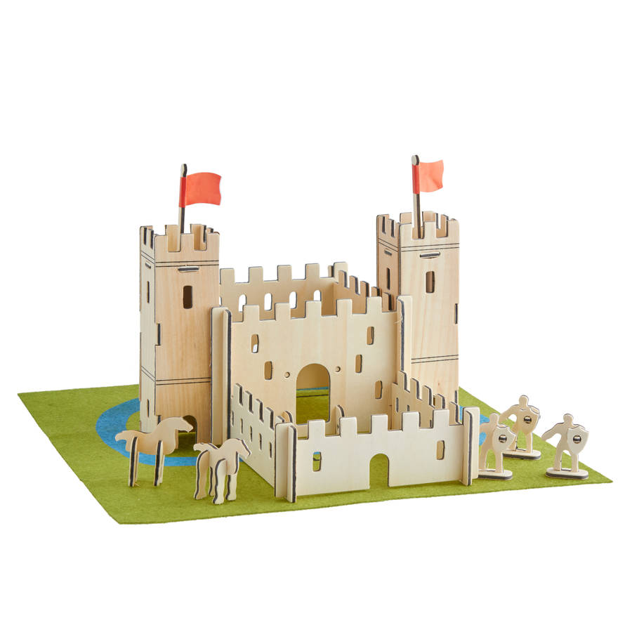 Build your own castle by the contemporary home for Build your own castle home