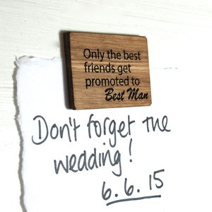 Personalised Only The Best Friends…Magnet - kitchen