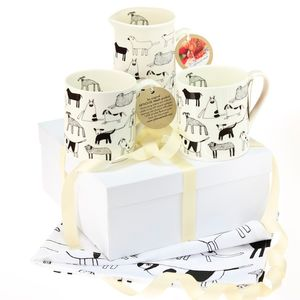 Dogs Gift Set - tea towels