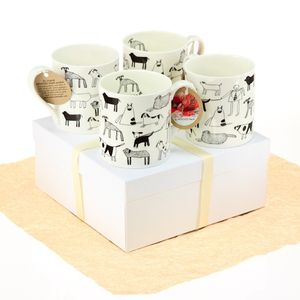 Dogs Mugs Gift Set
