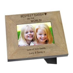Bestest Daddy Photo Frames - personalised