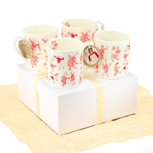 Dancers Mugs Gift Set