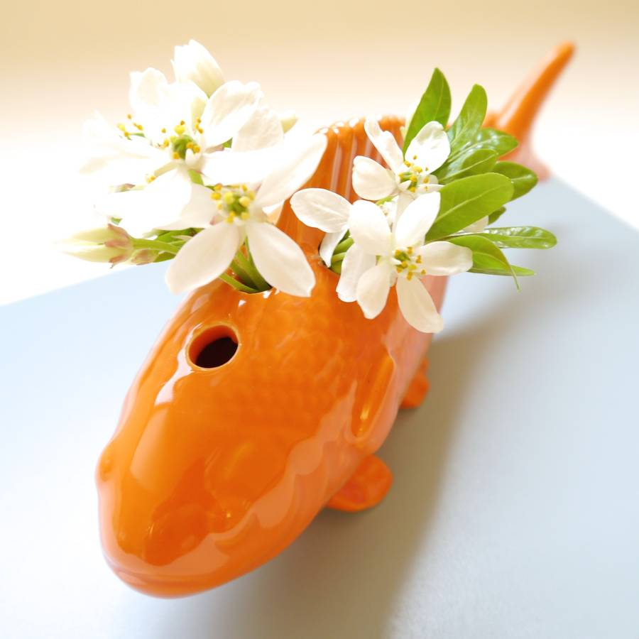 Koi carp china fish vase by begolden for Koi fish vase