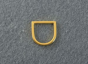 Horseshoe Gold Ring - rings