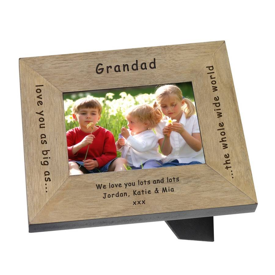 Love You Daddy Grandad Mummy Grandma Frame By Babyfish