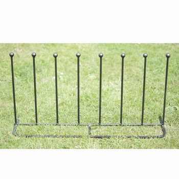 Four Pair Boot Rack Straight