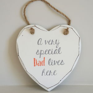 A Very Special Dad Wooden Sign