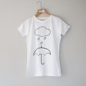 Women's Rain Slim Fit T Shirt - women's fashion