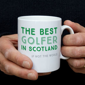 Best Golfer In… Personalised Mug - gifts for golfers