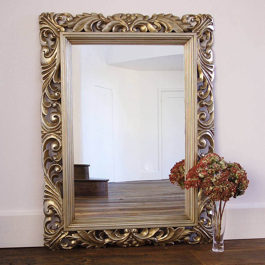 fleur decorative wall mirror by primrose & plum ...