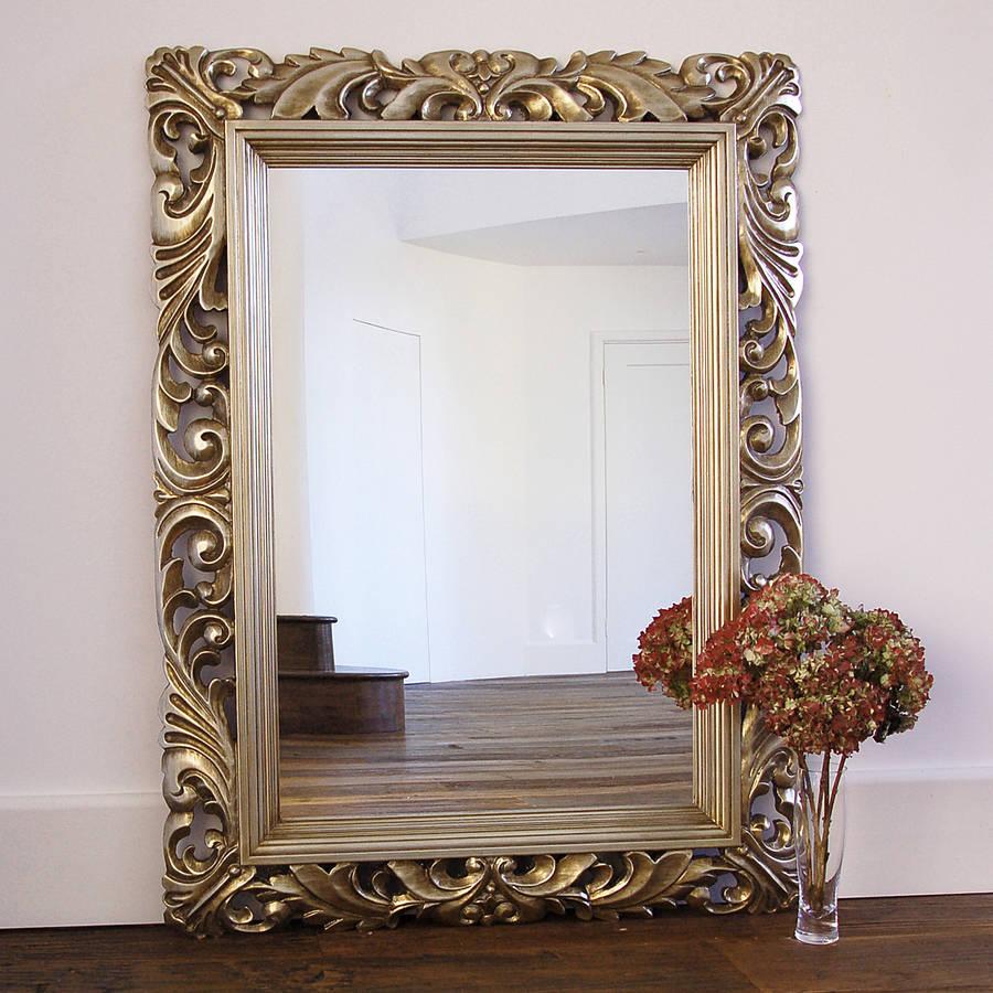 fleur decorative wall mirror by primrose & plum ... on Wall Mirrors id=52861