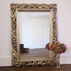 Fleur Decorative Wall Mirror - dining room