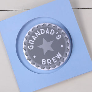 Father's Day Bottle Opener With Card Option