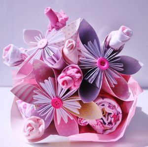 Newborn Flower Bouquet - keepsakes