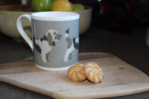 Herbie Hound Fine Bone China Mug - tableware