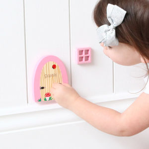 Personalised Fairy Door - wall stickers