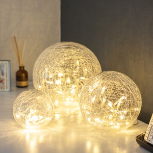 Set Of Three Fairy Light Orbs - fairy lights & string lights