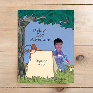 Personalised Photo Book For Daddy - books
