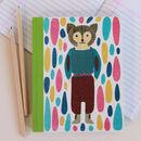 Thumb hard backed notebook