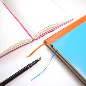 Personalised Leather Journal - notebooks