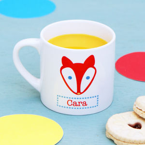 Personalised Fox Children's Mug