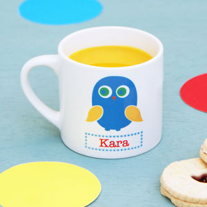 Personalised Owl Children's Mug - dining room