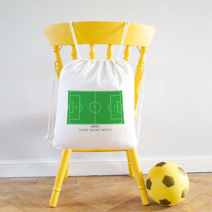 Personalised Football Kit Bag - bedroom