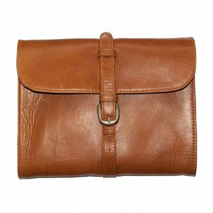 Leather Wet Pack - wash & toiletry bags