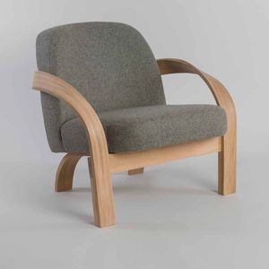 Tom Raffield Arbor Upholstered Armchair - furniture