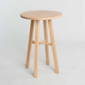 Tom Raffield Stuggy Side Table - living room