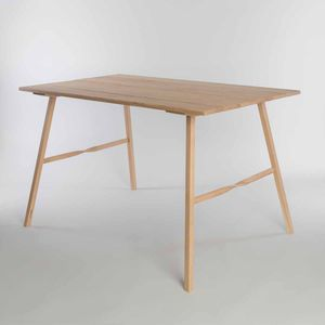 Salt Table | Large Oak Wooden Table - furniture