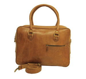 Travel Fred Leather Bag - holdalls & weekend bags