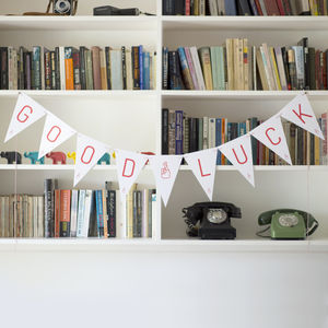 Good Luck Bunting - home accessories