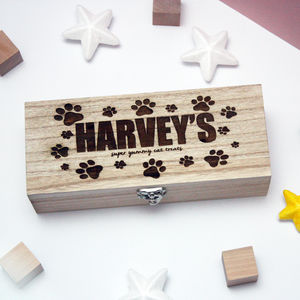 Personalised Pet Wooden Box - shop by price