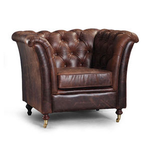 Caesar Leather Armchair